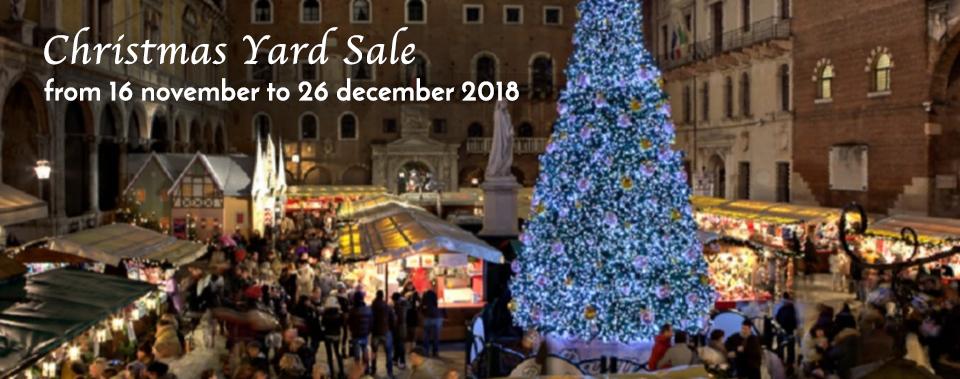 Christmas Yard Sale